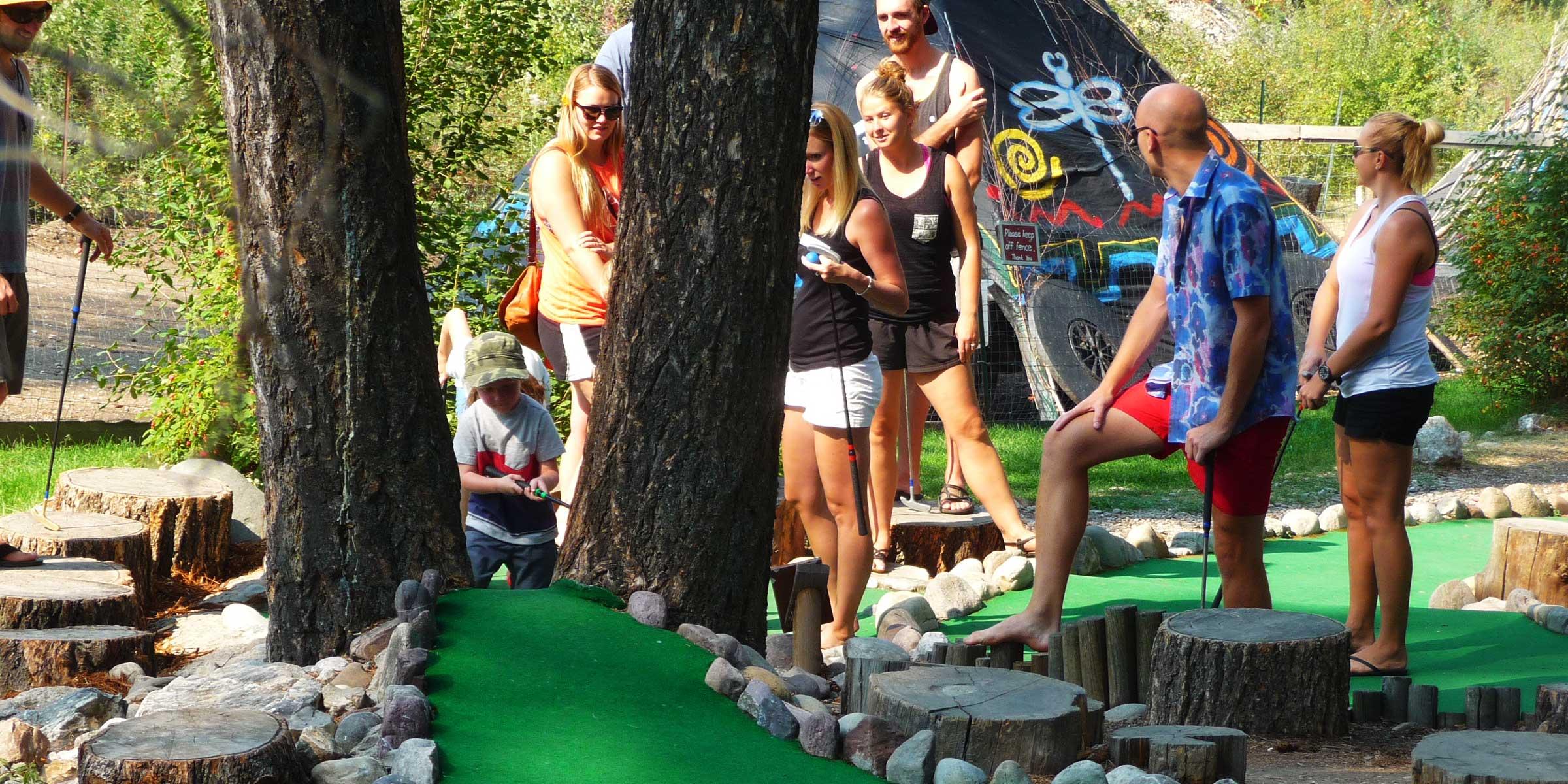Fairmont, BC - Mini Golf