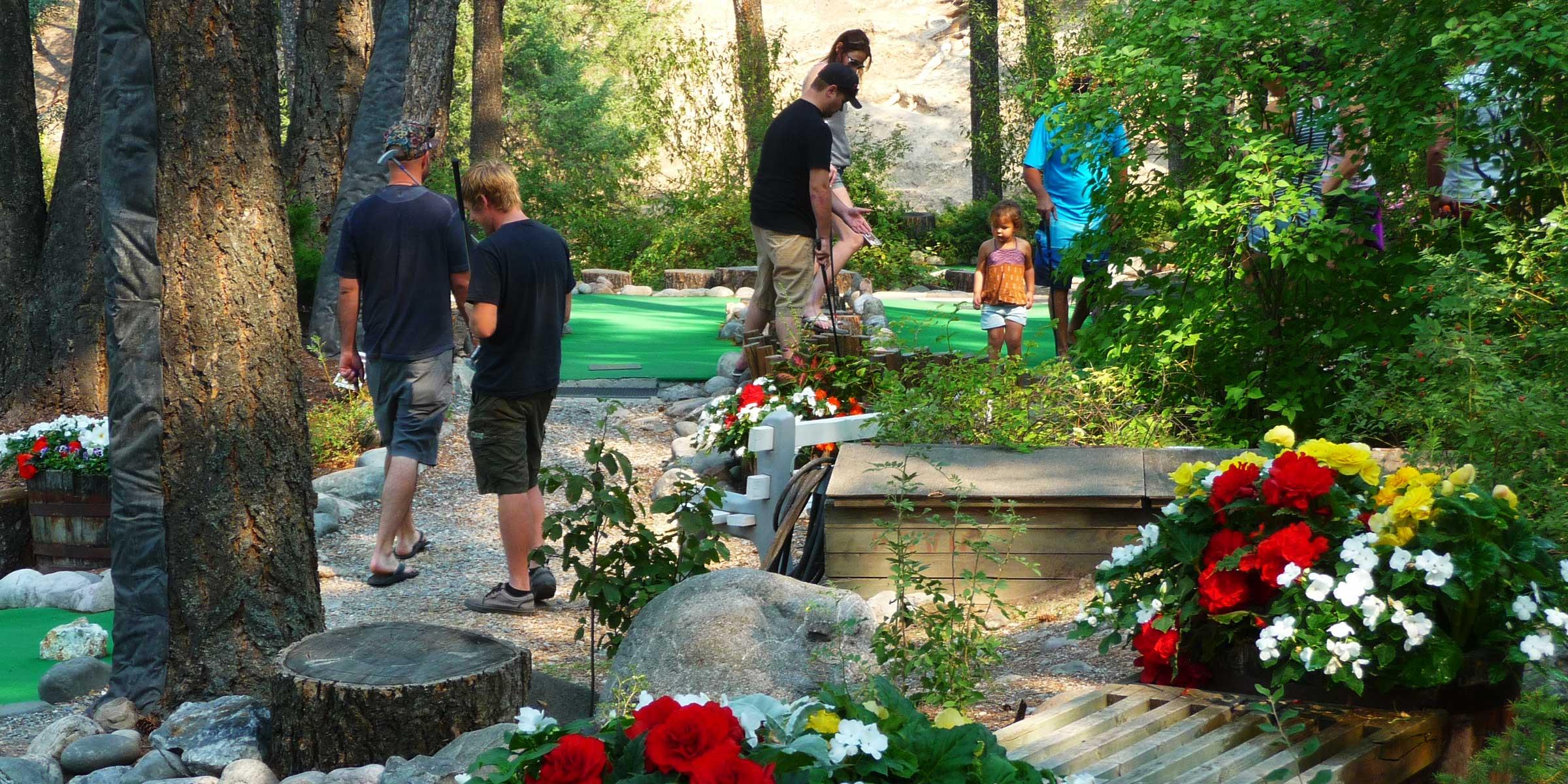 Fairmont Hot Springs - mini golf